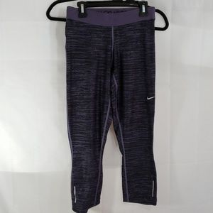 Nike dri-fit cropped leggings size small